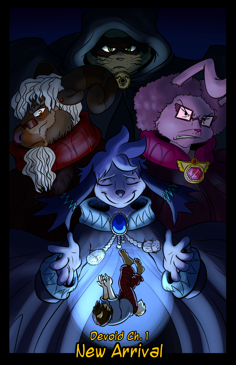 Devoid – Chapter 1 Cover